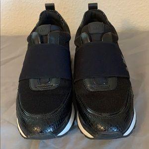 Michael Kors black and white sneakers.  Ladies 7.